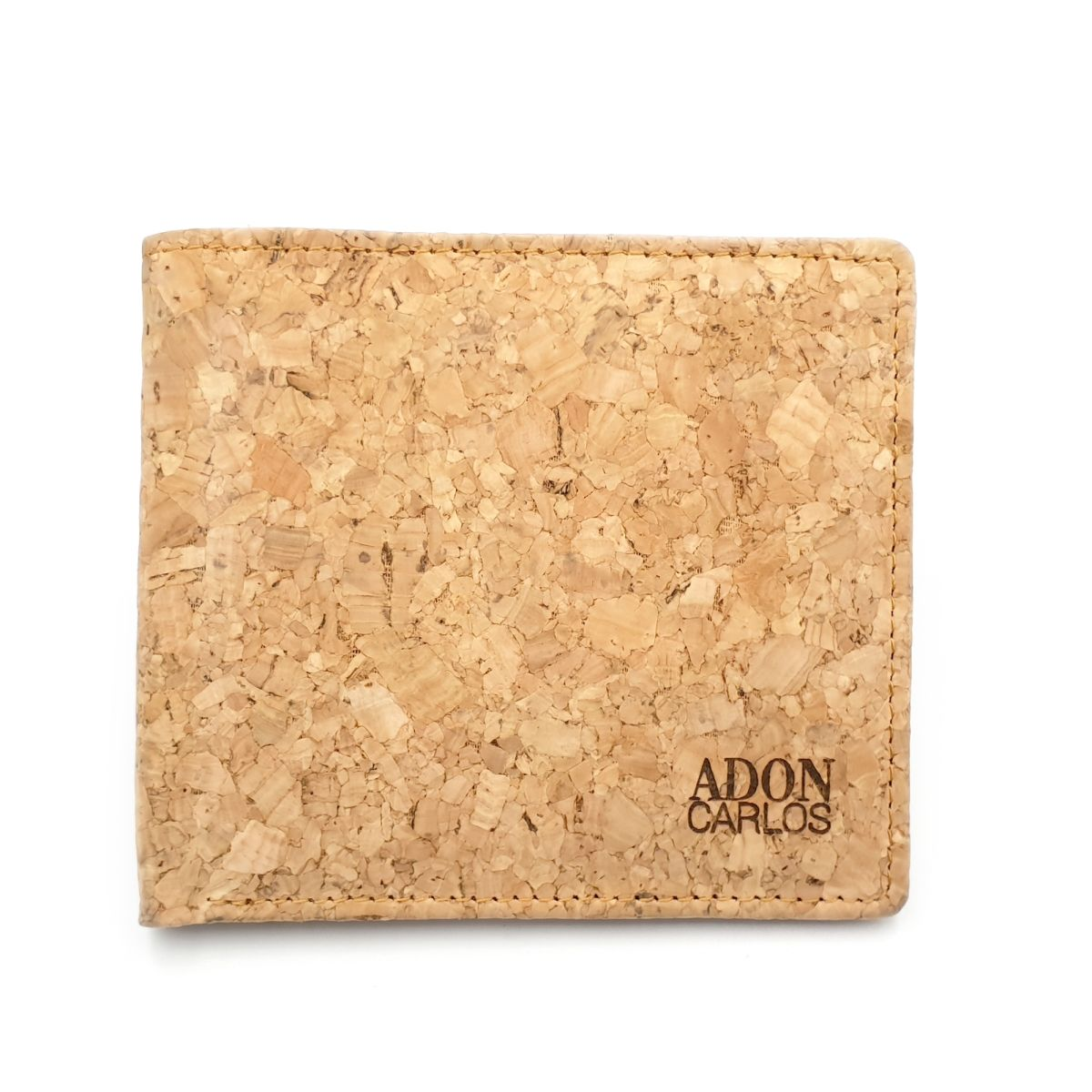 WALLET Cork Mens Wallet With Coin Pocket - Black