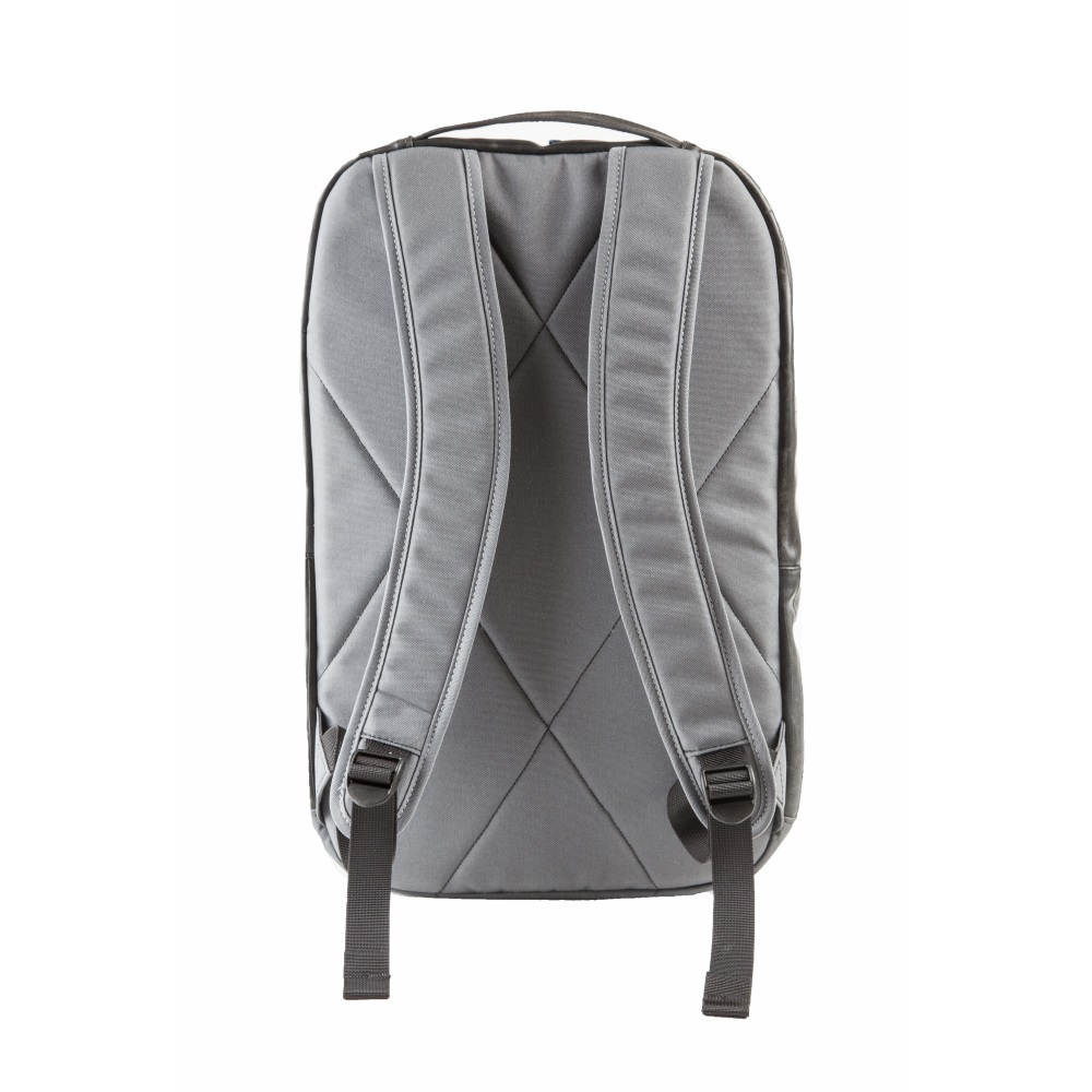 Alchemy Goods Recycled Brooklyn Backpack - Black/Charcoal