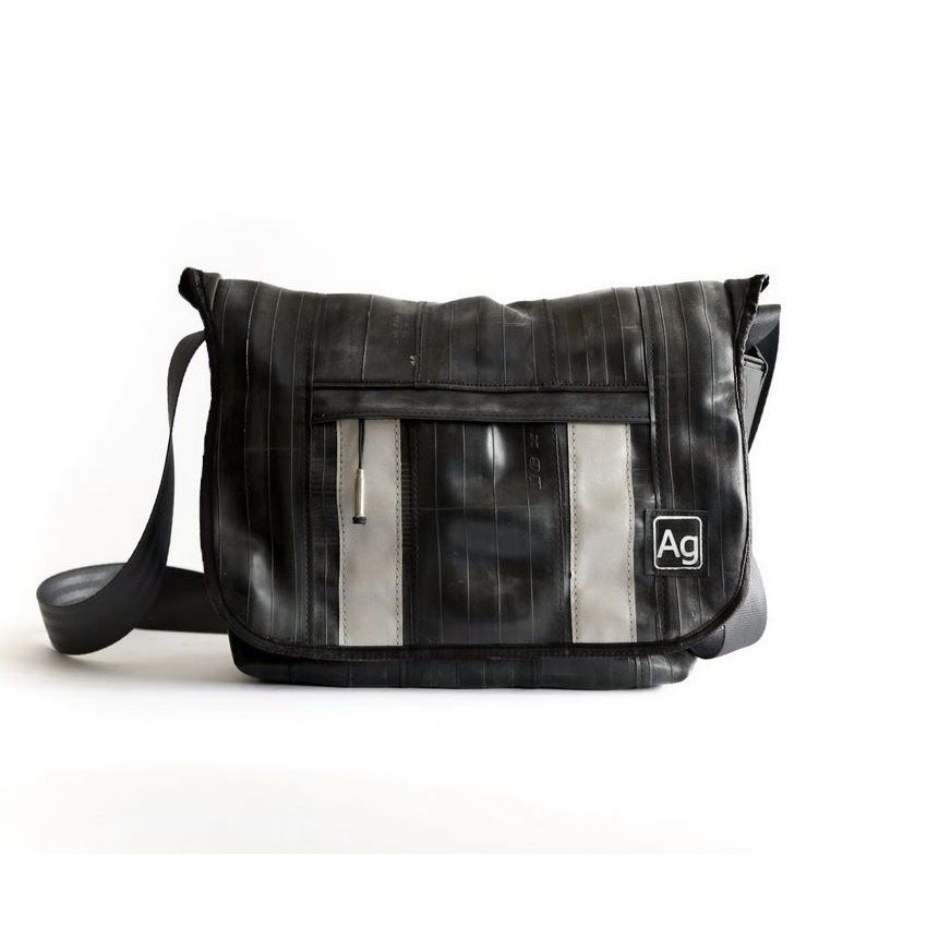Alchemy Goods Recycled Pine Messenger Bag - Black