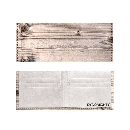 Tyvek Billfold - Wood