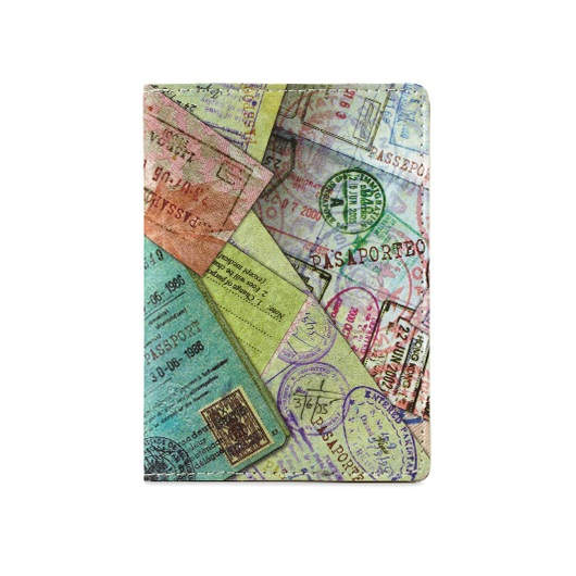 Dynomighty Tyvek Passport Cover - Passport Stamp