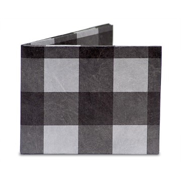 Dynomighty Mighty Wallet - Black Plaid