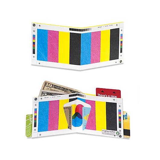 Dynomighty Mighty Wallet - Color Bar