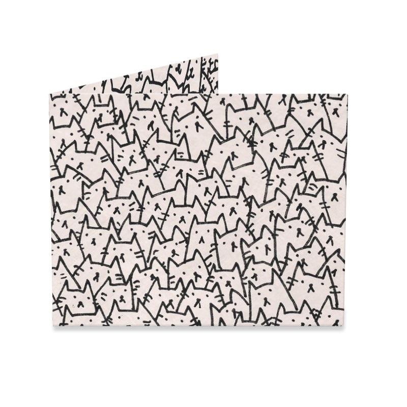 Dynomighty Mighty Wallet - Pocket Full Of Cats