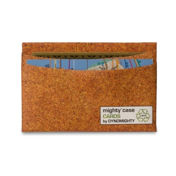 Dynomighty Mighty Card Case - Cork
