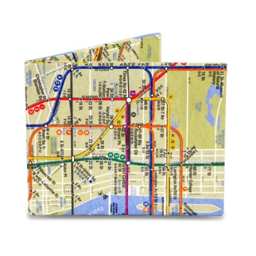 Dynomighty Mighty Wallet - NYC Subway