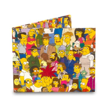 Dynomighty Mighty Wallet - Simpsons Cast