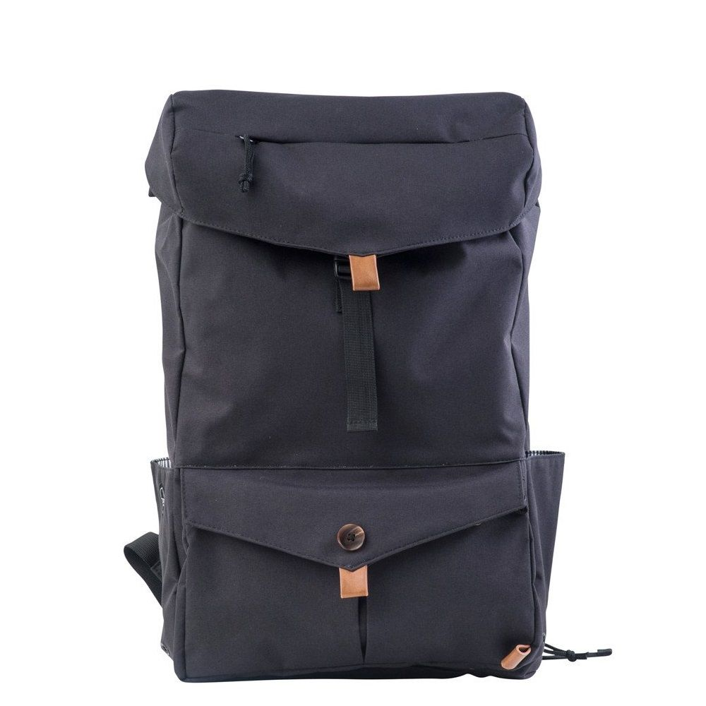 PKG Backpack Drawstring Pack  - Black