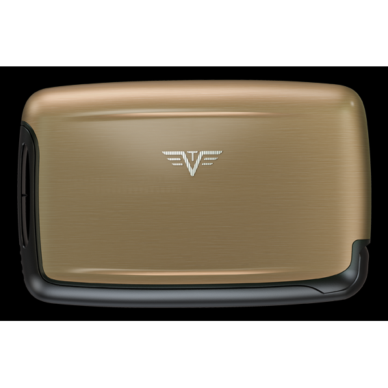 TRU VIRTU Aluminum Card Case - Pearl - Grey