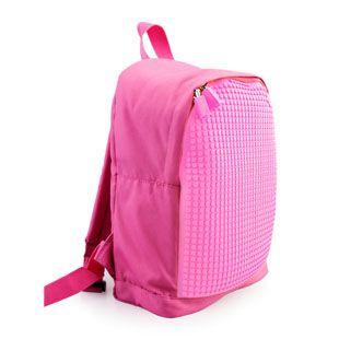 Pixel Kids Backpack  - Pink