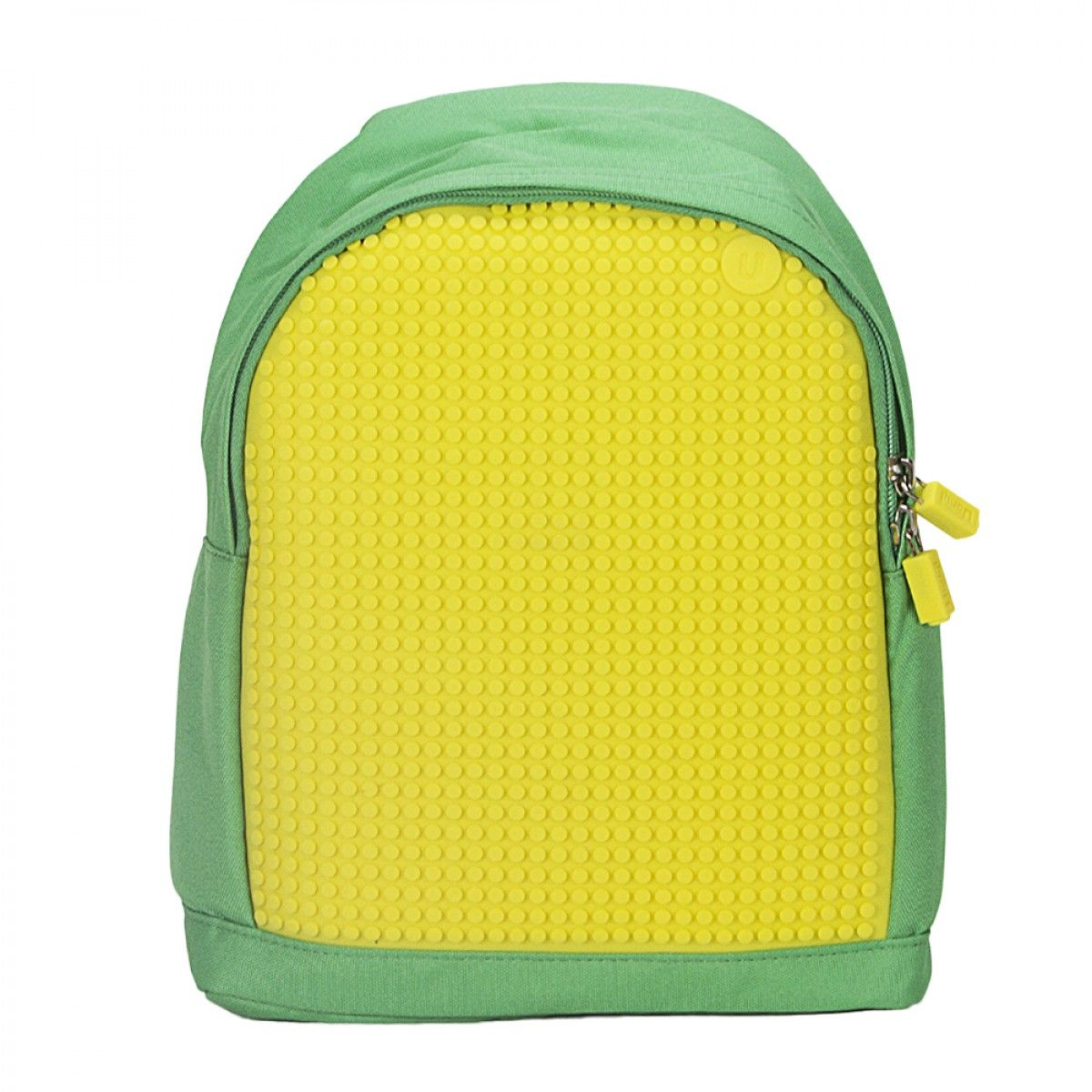 Pixel Kids Backpack  - Green/Yellow