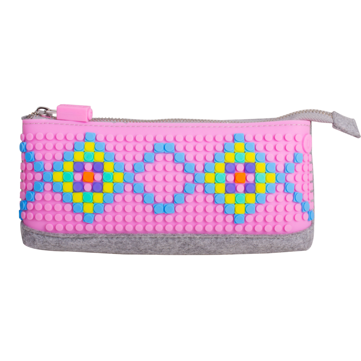 UPixel Pencil Case - Turkiz/Fuschia