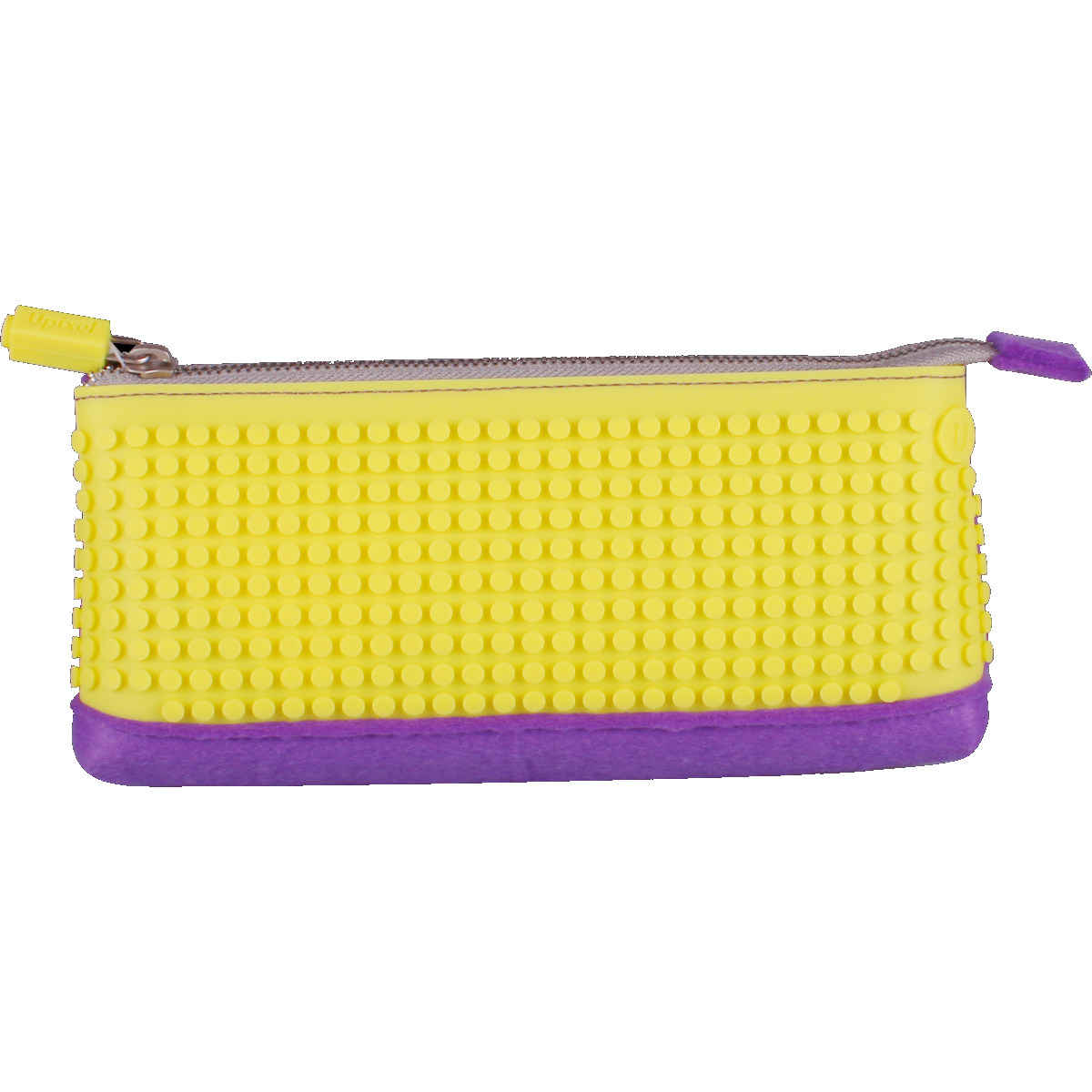 Pencil Case - Yellow/Purple