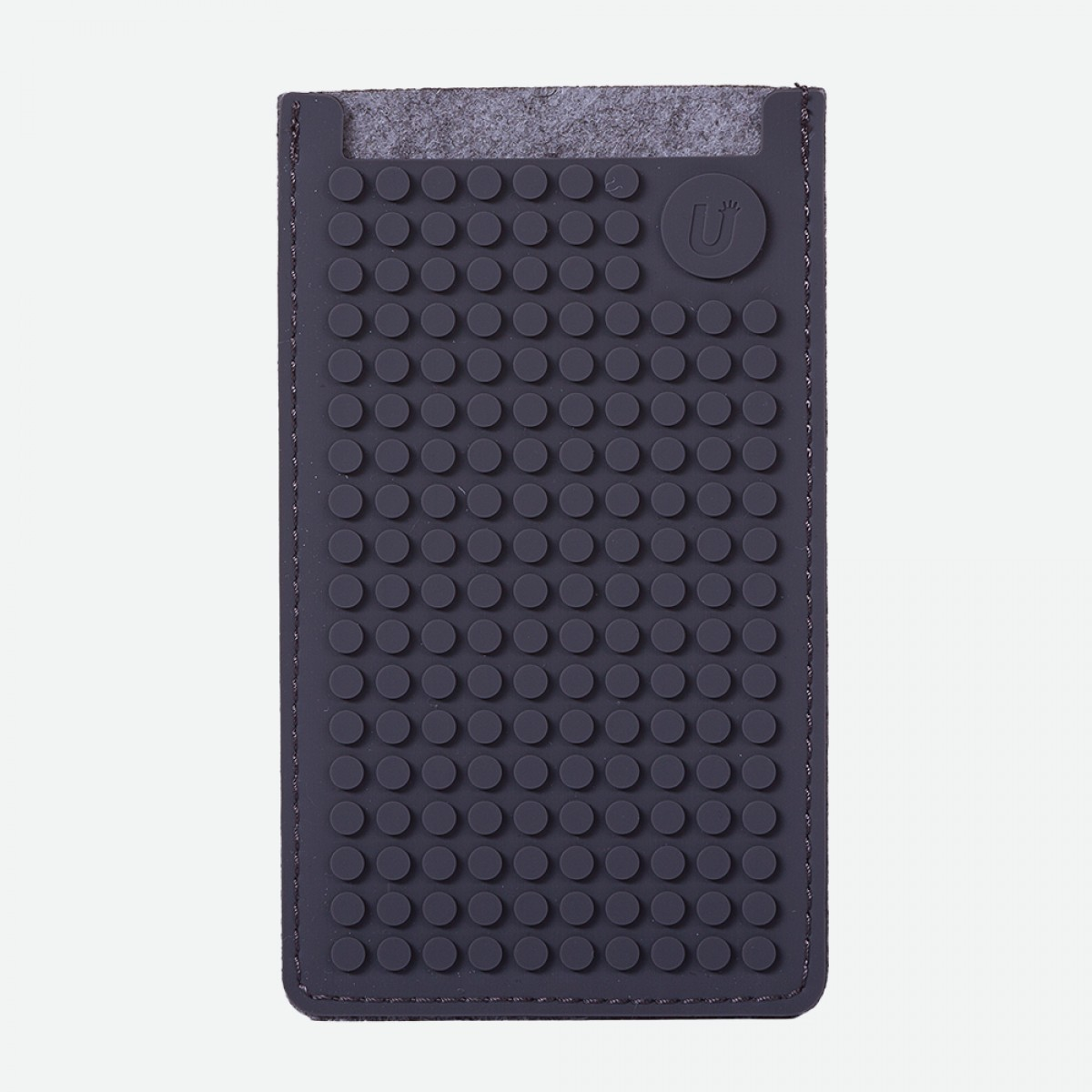 Pixel Phone Case Small - Grey