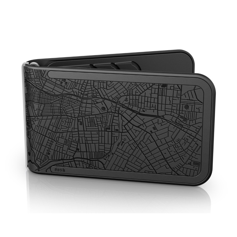 dosh EMBOSSED - Colony Black
