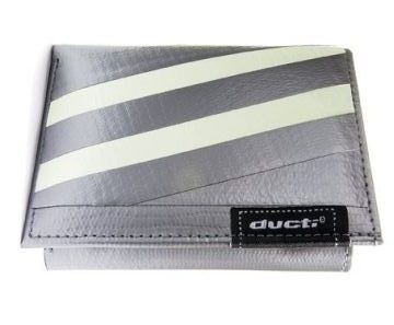 Ducti Duct Tape Undercover Wallet - Silver/Glow