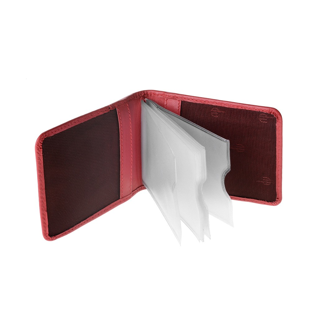 dv Compact Credit card holder - Red