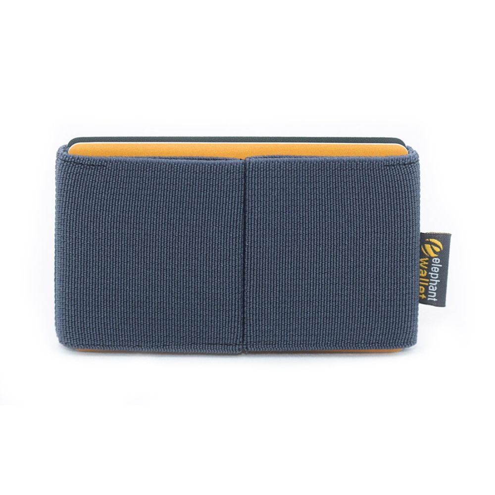 elephant Minimalist Rubber Wallet - Gray