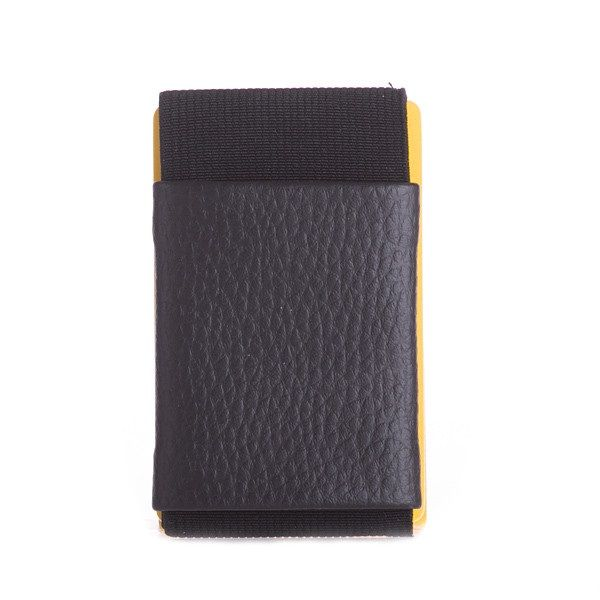 Minimalist Rubber Wallet - Black