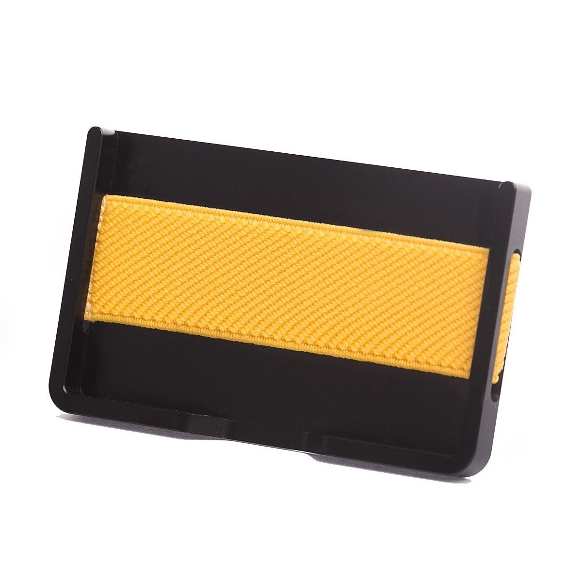 elephant Minimalist Aluminum Wallet - Black/Yellow