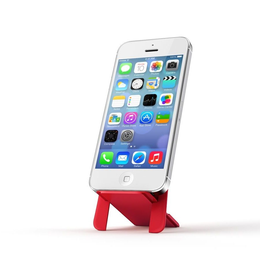 HIP ION phone stand for wallets - Red