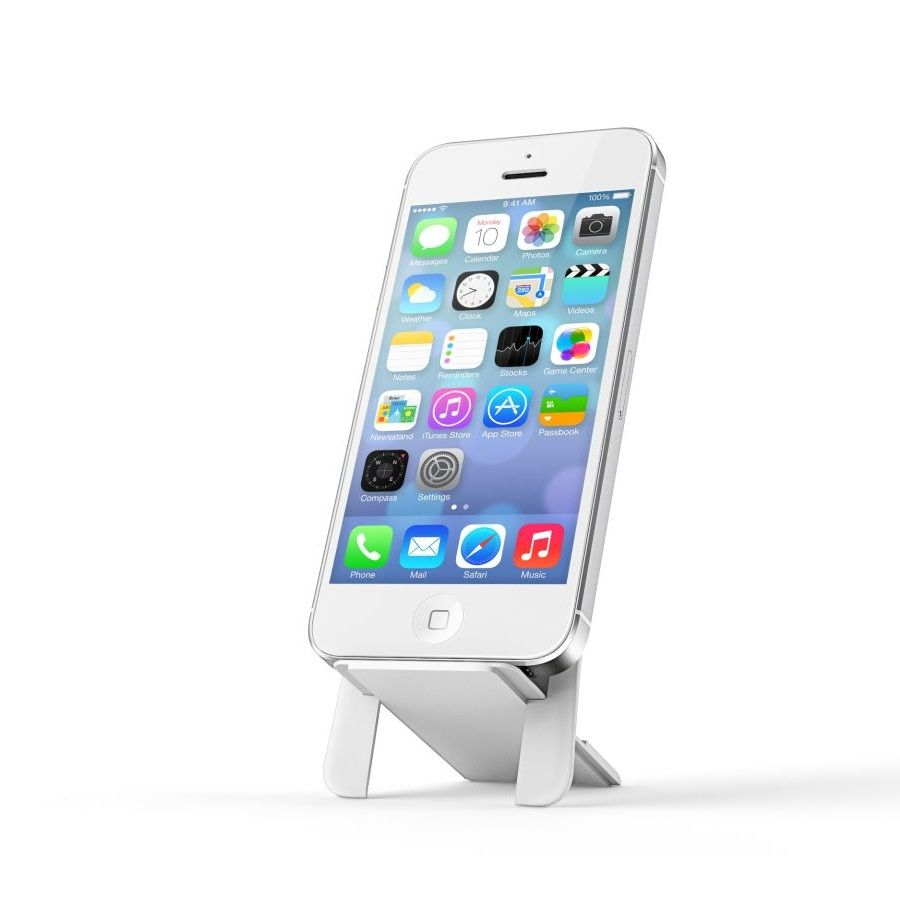 HIP ION phone stand for wallets - White