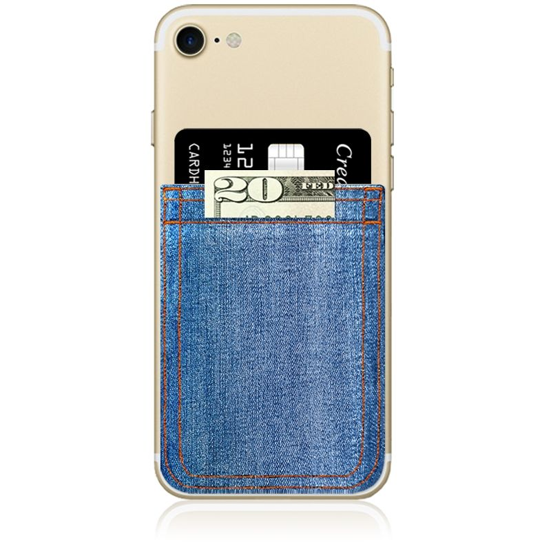 iDecoz Phone Pocket - Denim