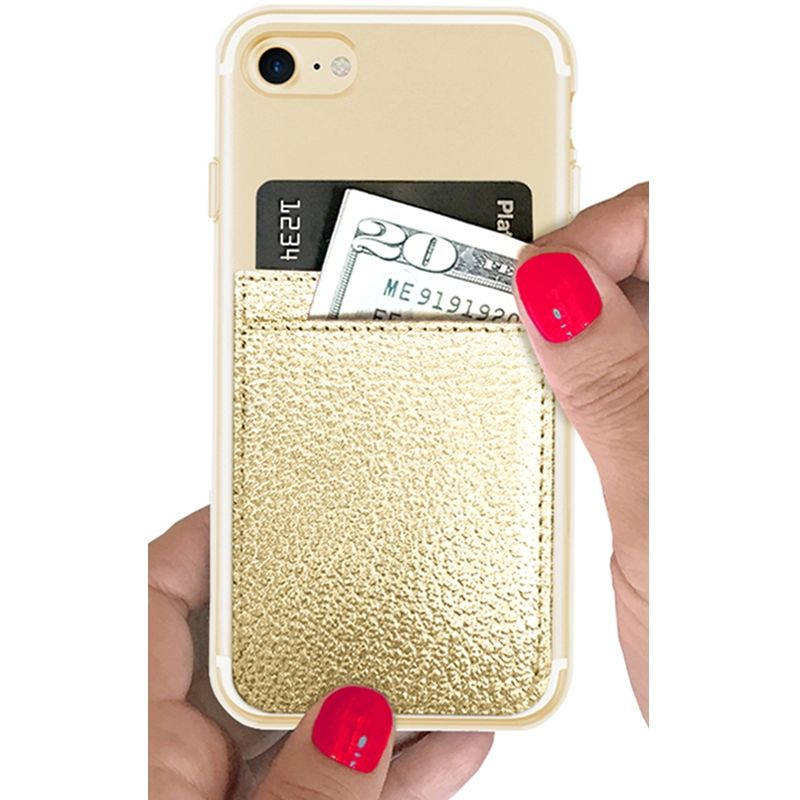 iDecoz Phone Pocket - Gold