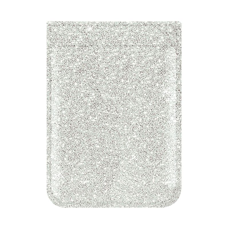 Phone Pocket - Glitter Silver