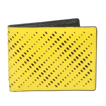 J.FOLD Reverb Leather Wallet - Yellow