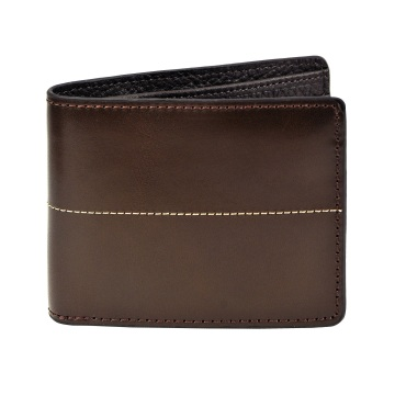 J.FOLD Thunderbird Leather Wallet - Brown