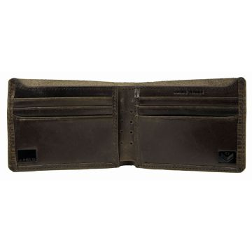 J.FOLD Leather Wallet TRED - Brown