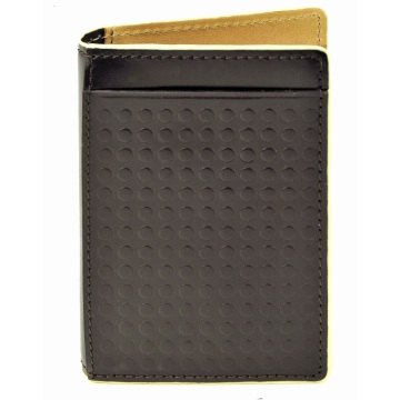 Folding Carrier Wallet - Brown