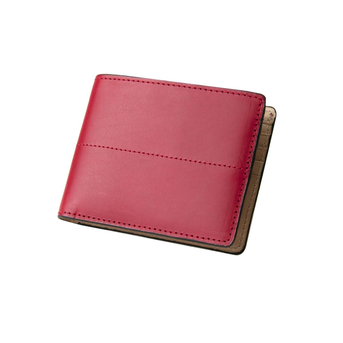 Thunderbird Leather Wallet - Red