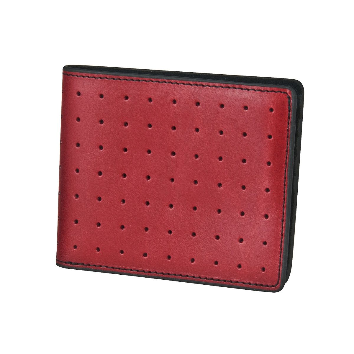 J.FOLD Loungemaster Leather Wallet  - Red