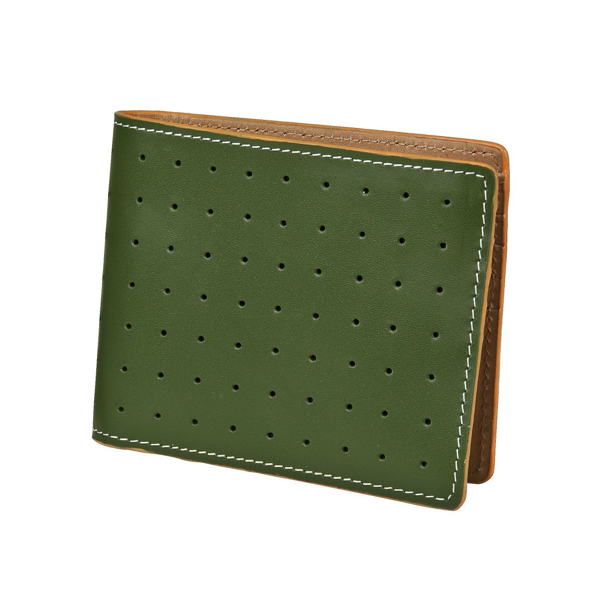 J.FOLD Loungemaster Leather Wallet  - Green