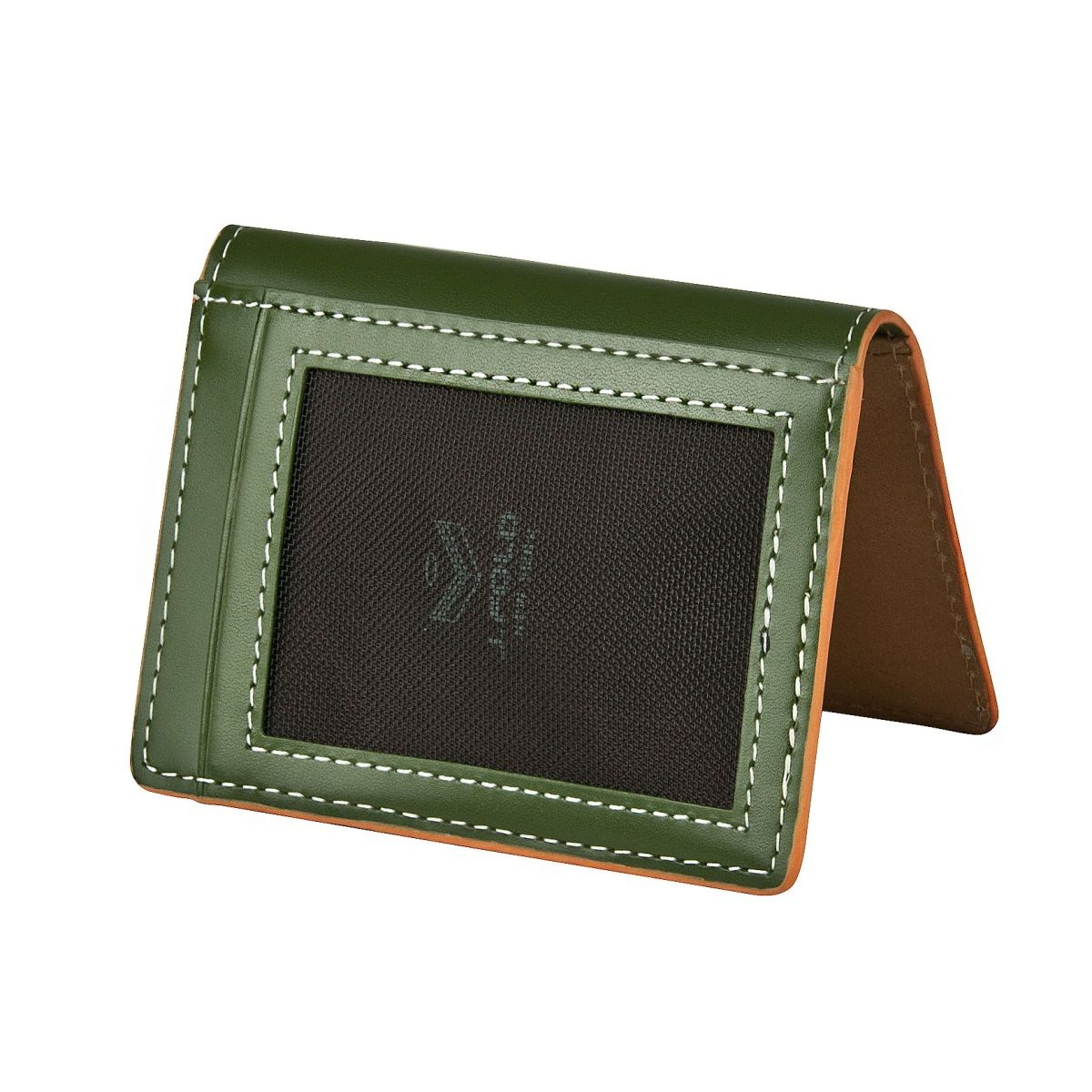 Folding Carrier Wallet - Green