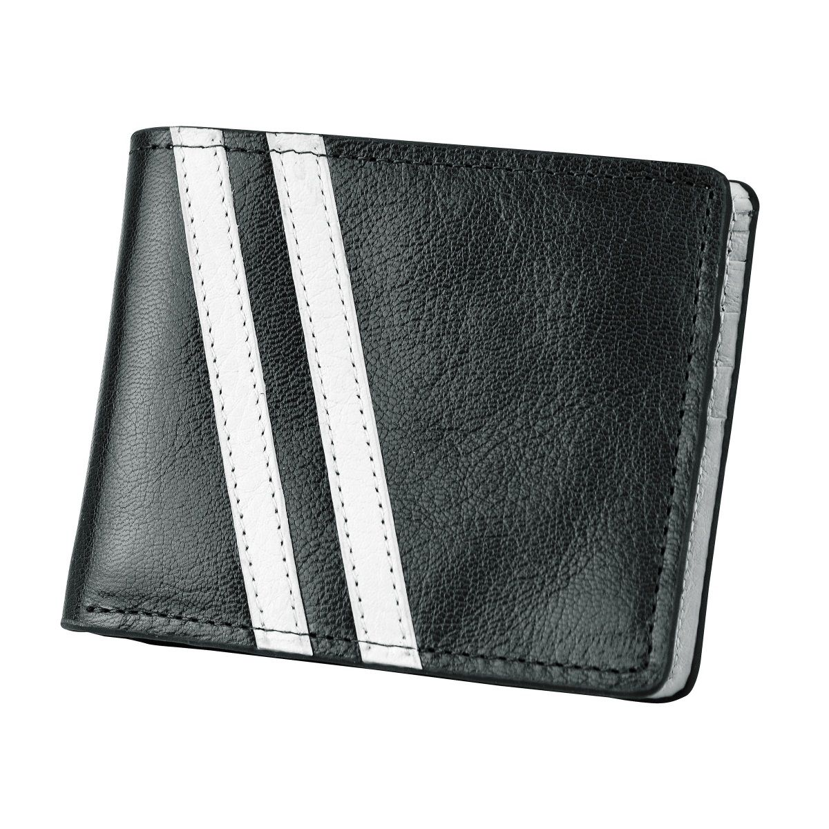 J.FOLD Roadster Leather Wallet - Black