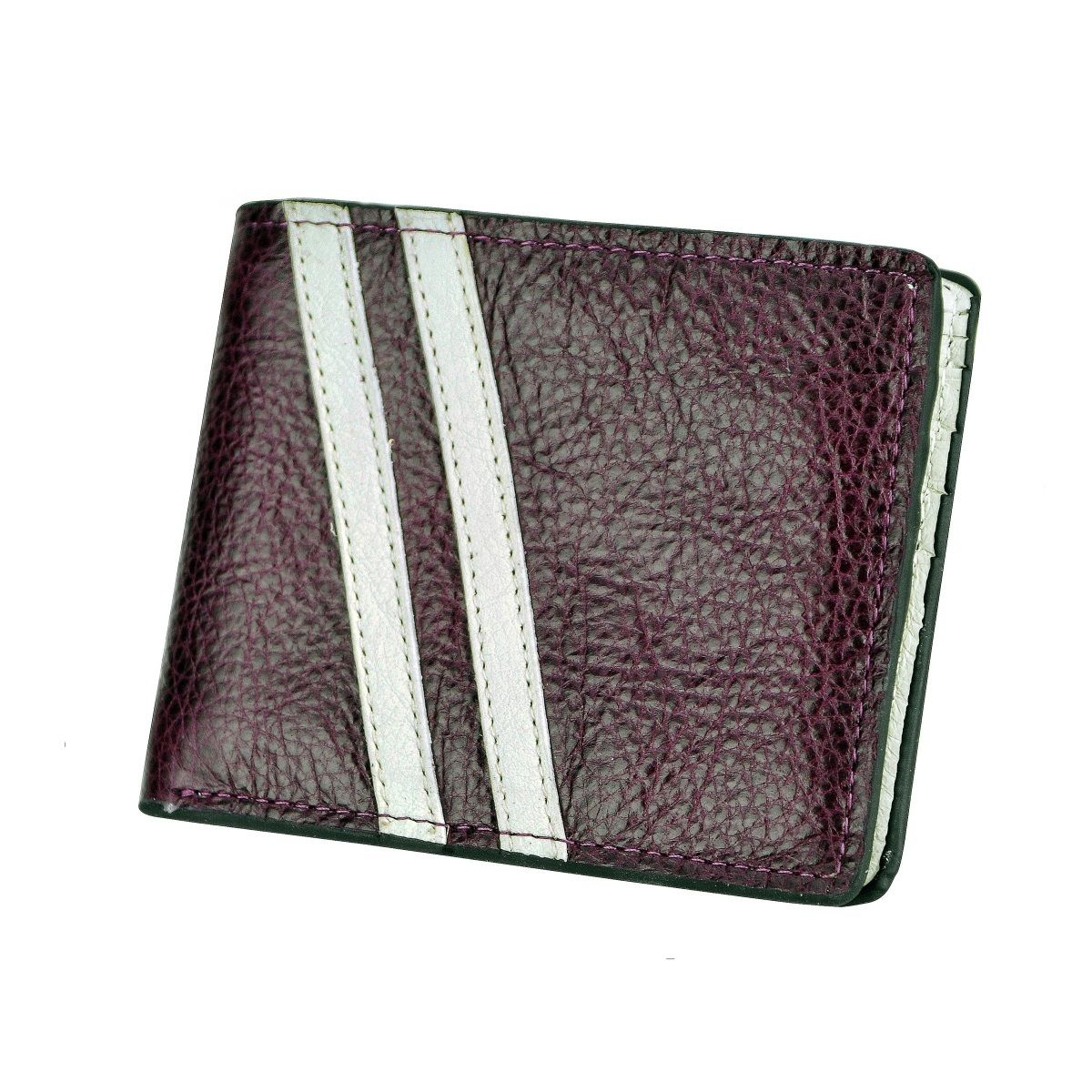 J.FOLD Roadster Leather Wallet - Purple