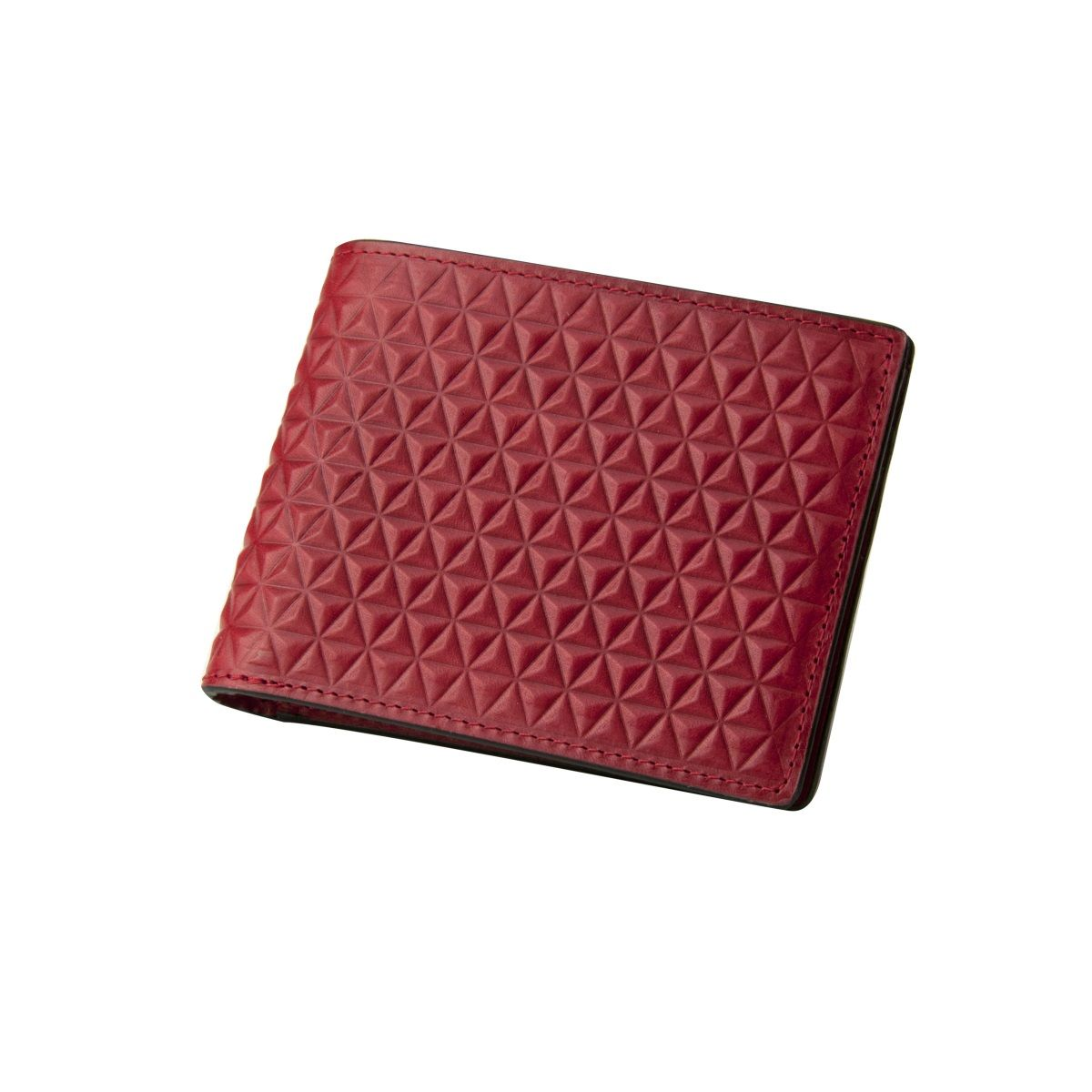 J.FOLD Tetra Leather Wallet - Red