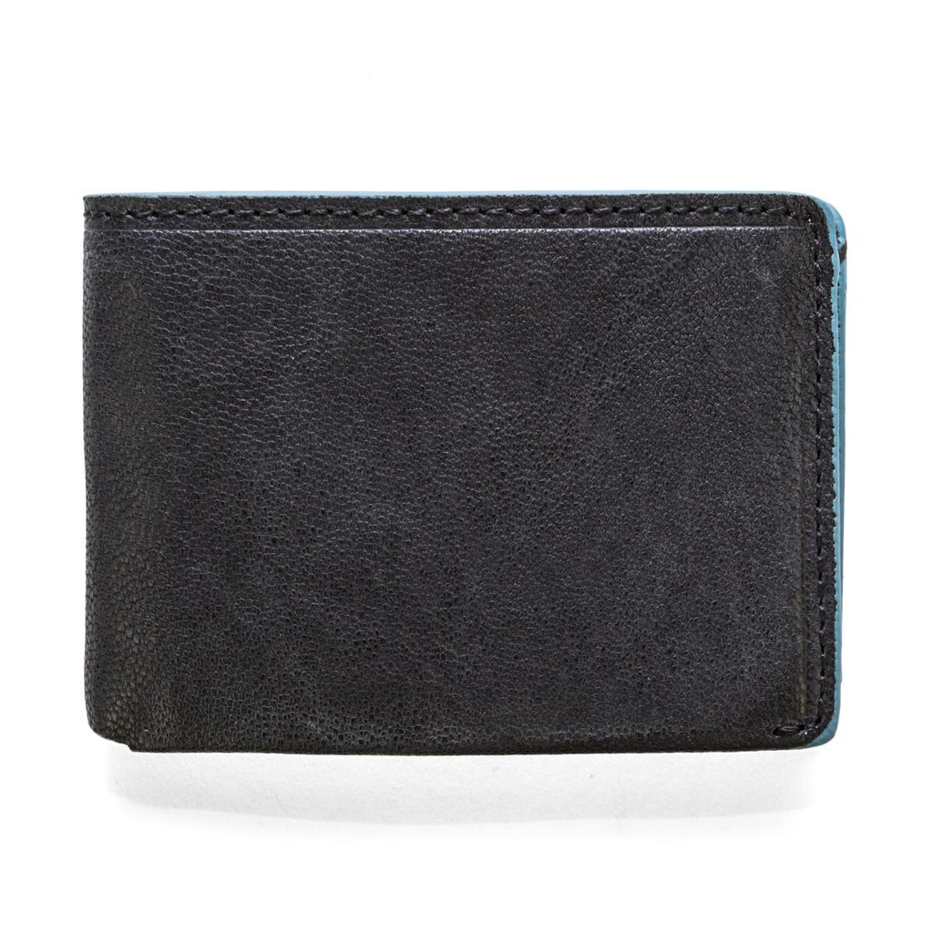 J.FOLD Leather Wallet Fader - Black