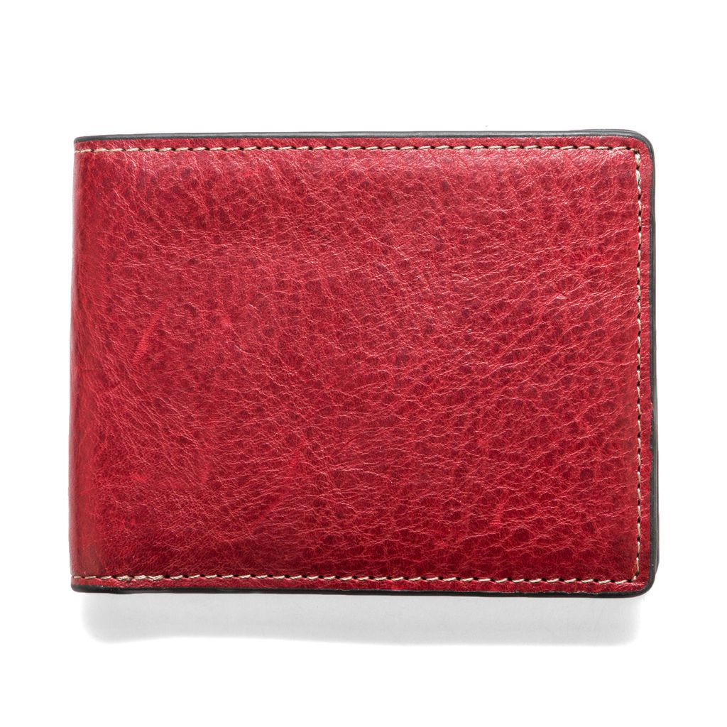 J.FOLD Leather Wallet Torrent - Red