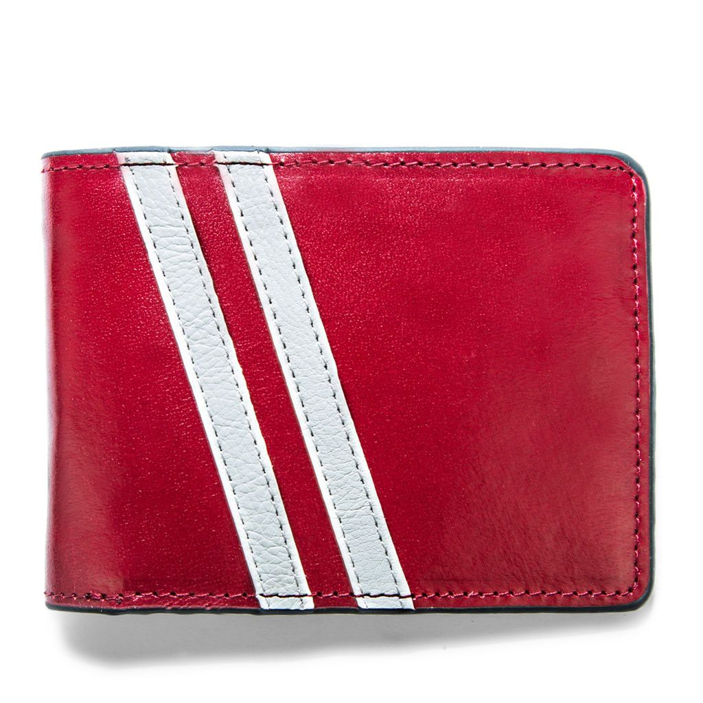 Roadster Leather Wallet - Red
