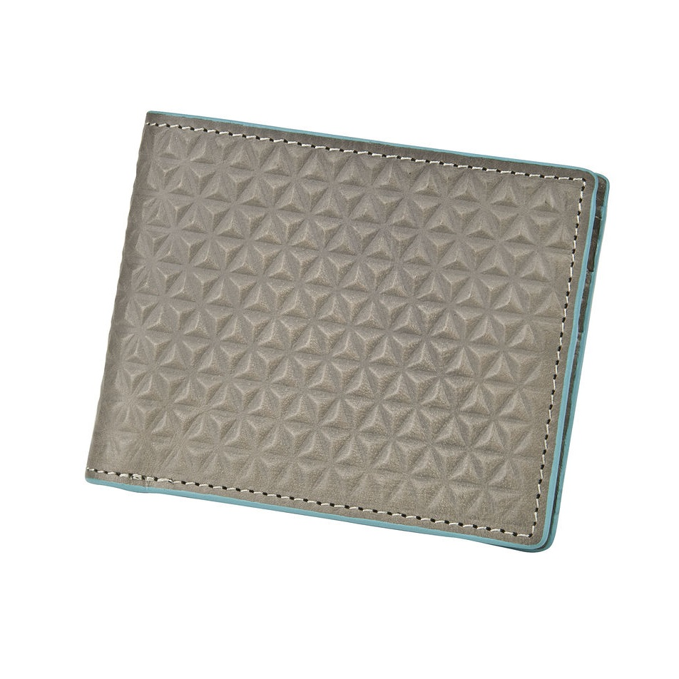 J.FOLD Tetra Leather Wallet - Gray