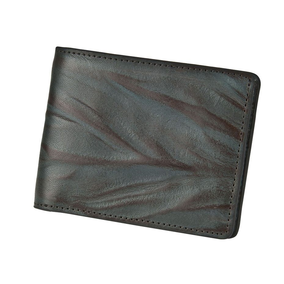 Leather Wallet - Water