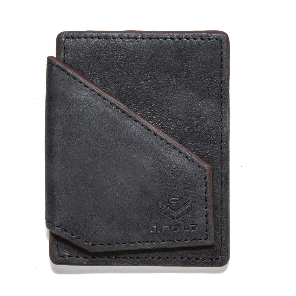 J.FOLD Mag Card Carrier - Smoked Black