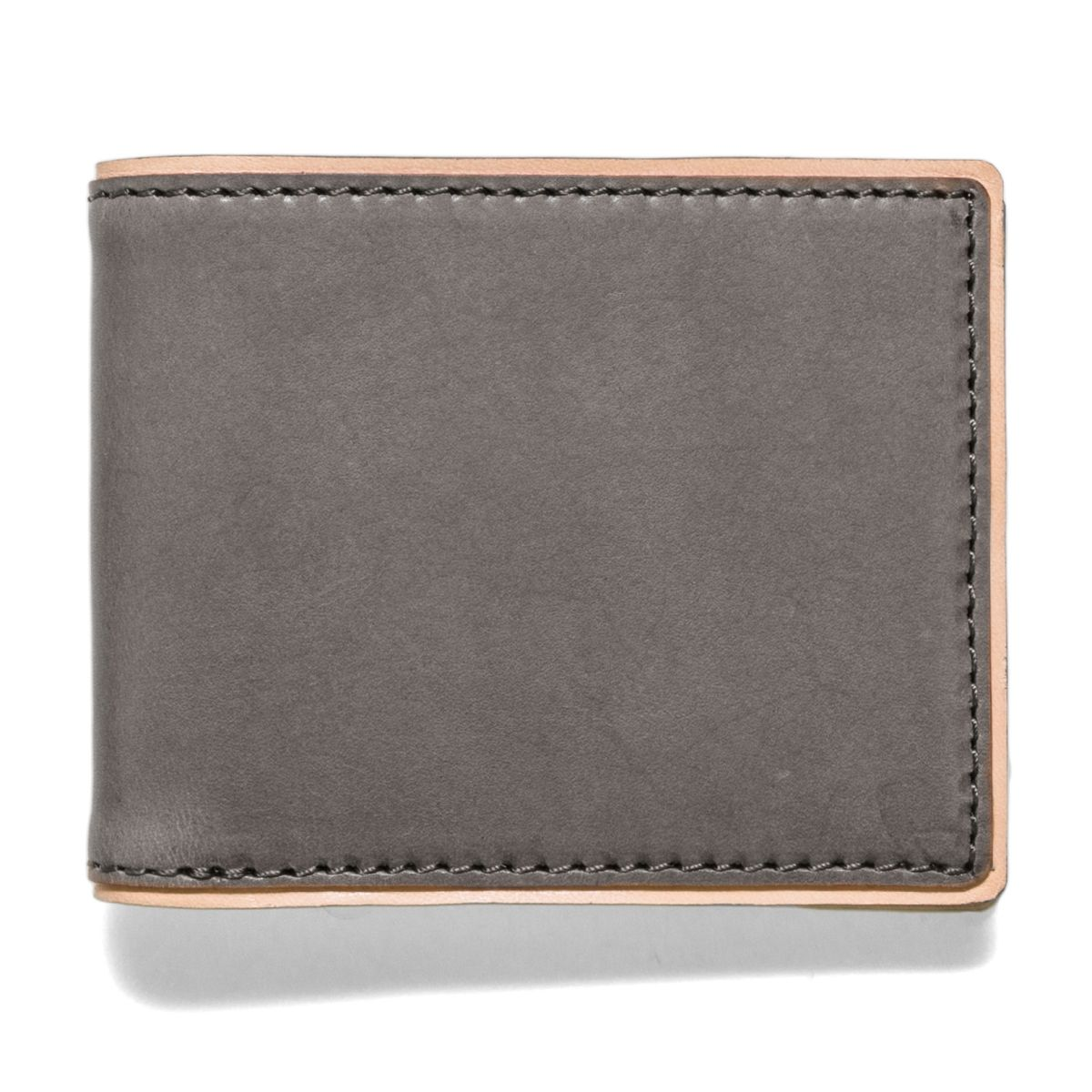 J.FOLD DUOTONE Leather Wallet - Grey