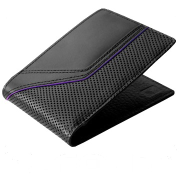 J.FOLD Jetstream Leather Wallet - Black