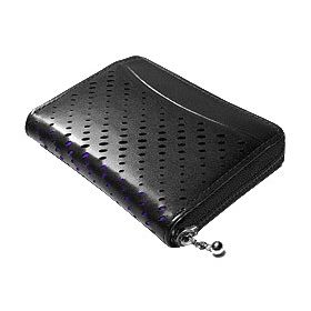 J.FOLD Hemi Zip Wallet - Black