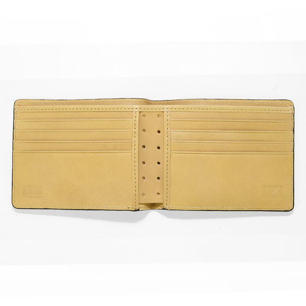 J.FOLD Roadster Leather Wallet - Yellow